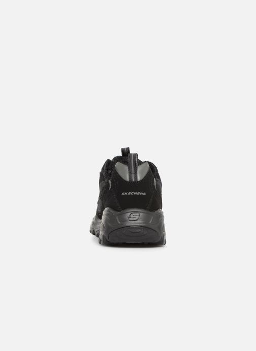 Baskets Skechers D'Lites M Noir vue droite