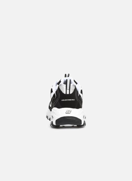 Sneaker Skechers D'Lites M schwarz ansicht von rechts