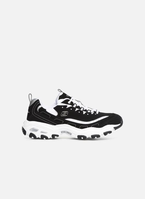 Sneaker Skechers D'Lites M schwarz ansicht von hinten