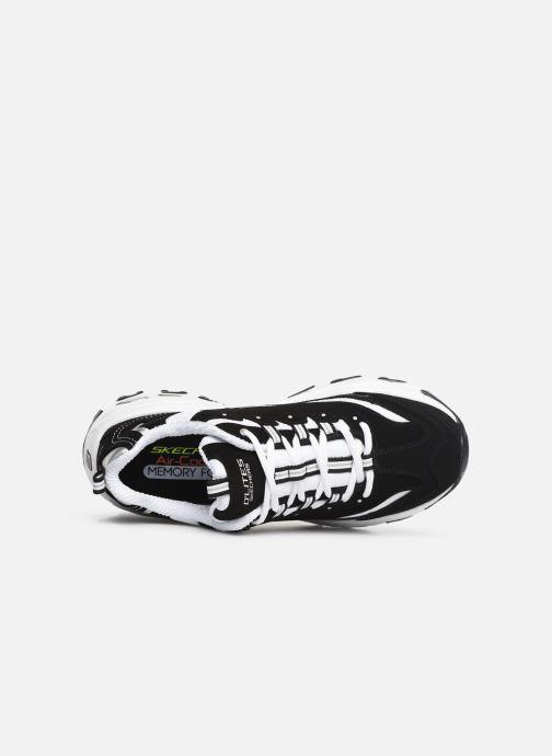 Sneaker Skechers D'Lites M schwarz ansicht von links
