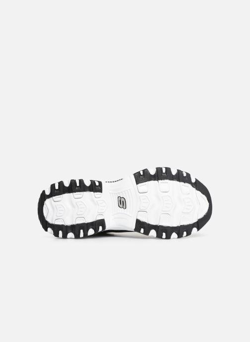 Baskets Skechers D'Lites M Noir vue haut