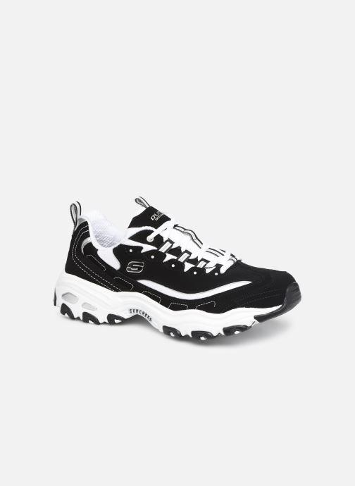 Sneaker Skechers D'Lites M schwarz detaillierte ansicht/modell