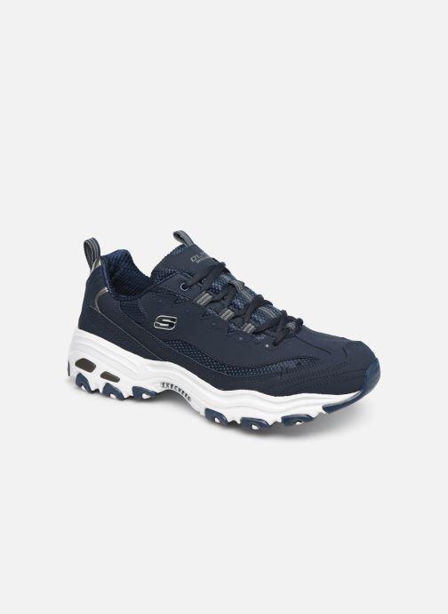 Sneaker Skechers D'Lites M blau detaillierte ansicht/modell