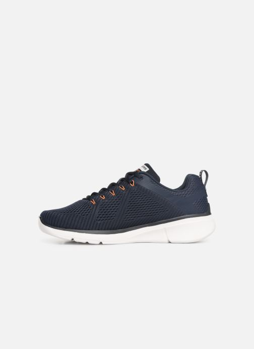 Trainers Skechers Equalizer 3.0 M Blue front view