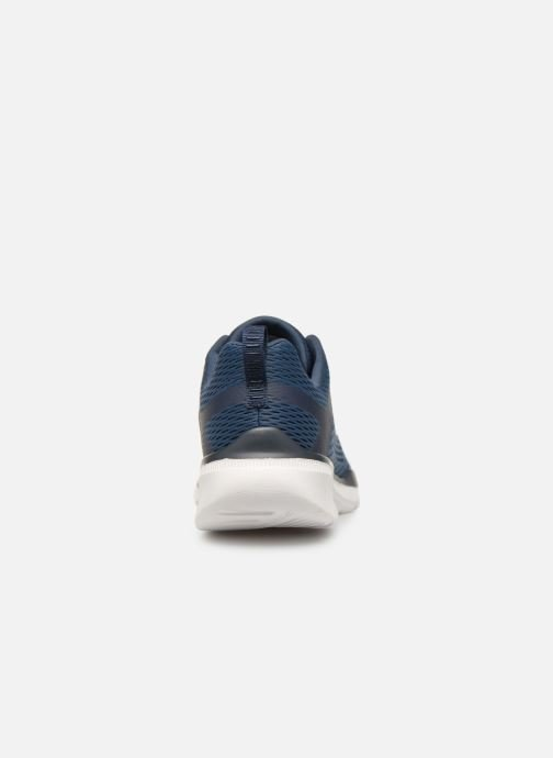 Trainers Skechers Equalizer 3.0 M Blue view from the right