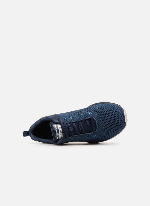 Trainers Skechers Equalizer 3.0 M Blue view from the left