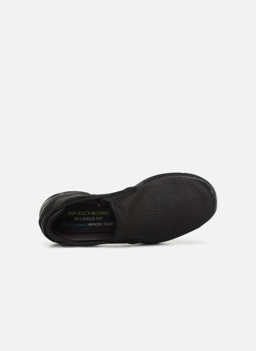 Sneakers Skechers Equalizer  3.0 Tracterric Sort se fra venstre