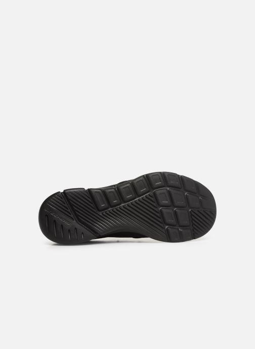 Sneakers Skechers Equalizer  3.0 Tracterric Svart bild från ovan