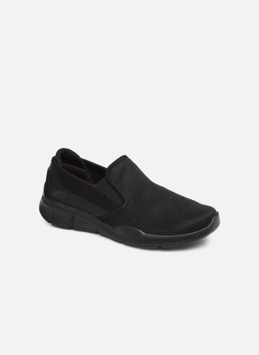 Sneakers Skechers Equalizer  3.0 Tracterric Sort detaljeret billede af skoene