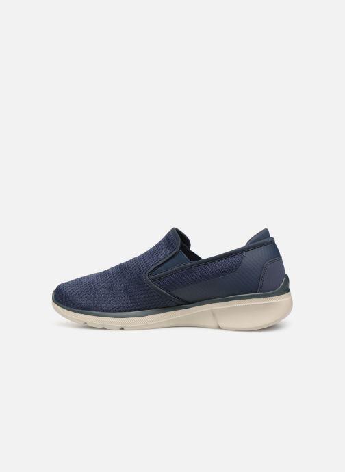 Sneakers Skechers Equalizer  3.0 Tracterric Blauw voorkant