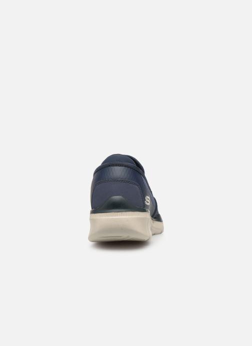 Deportivas Skechers Equalizer  3.0 Tracterric Azul vista lateral derecha