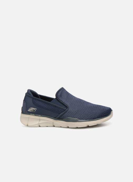 Trainers Skechers Equalizer  3.0 Tracterric Blue back view