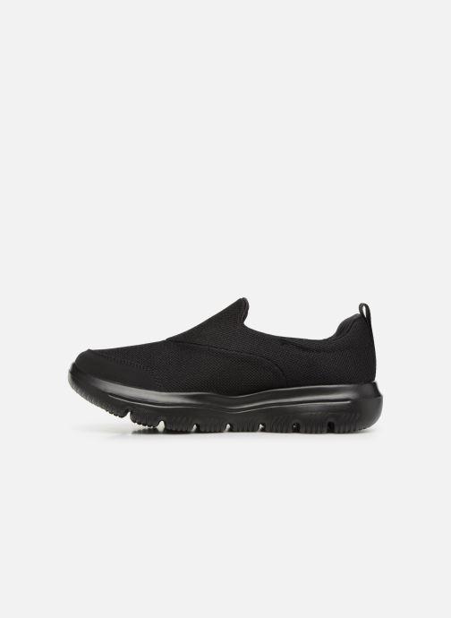 Sneakers Skechers Go Walk Evolution Ultra Rapids Sort se forfra