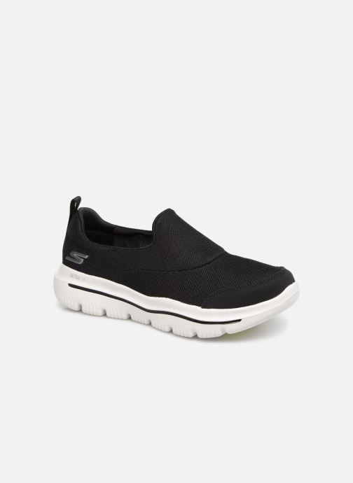 Trainers Skechers Go Walk Evolution Ultra Rapids Black detailed view/ Pair view