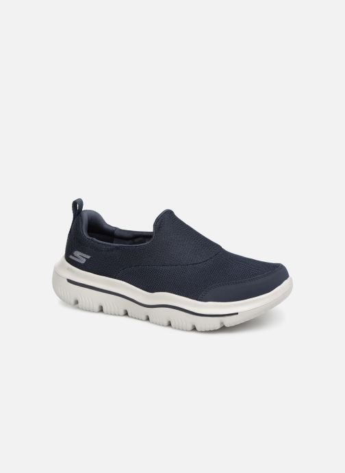 Sneakers Skechers Go Walk Evolution Ultra Rapids Blå detaljerad bild på paret