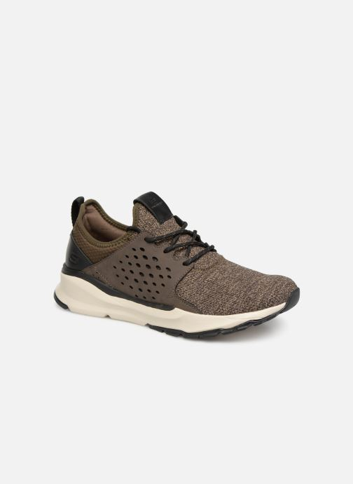 Trainers Skechers Relven Velton Brown detailed view/ Pair view