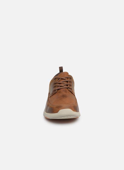 Sneakers Skechers Elent Leven Bruin model