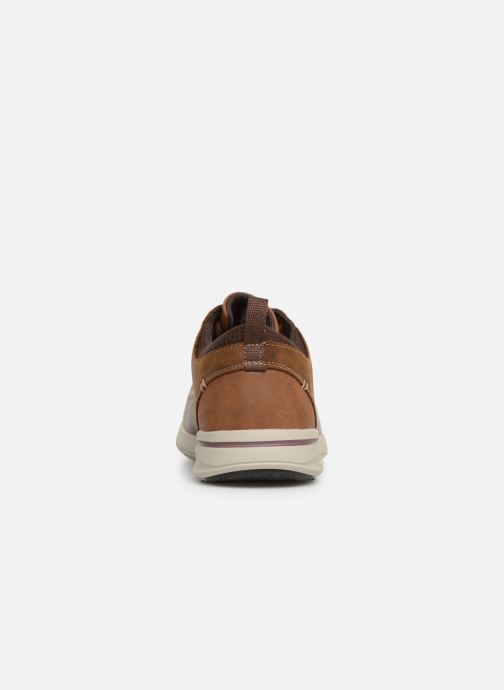 Trainers Skechers Elent Leven Brown view from the right