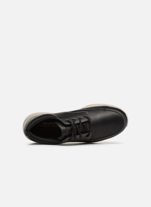 Trainers Skechers Elent Leven Black view from the left