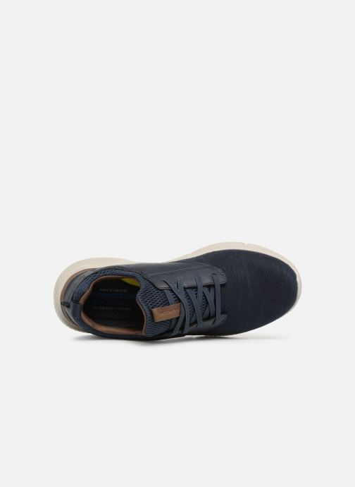 Trainers Skechers Ingram Marner Blue view from the left