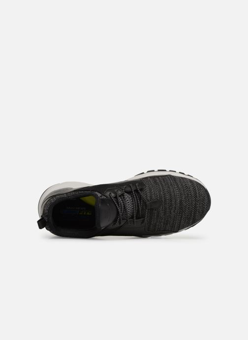 Trainers Skechers Relven Arkson Black view from the left