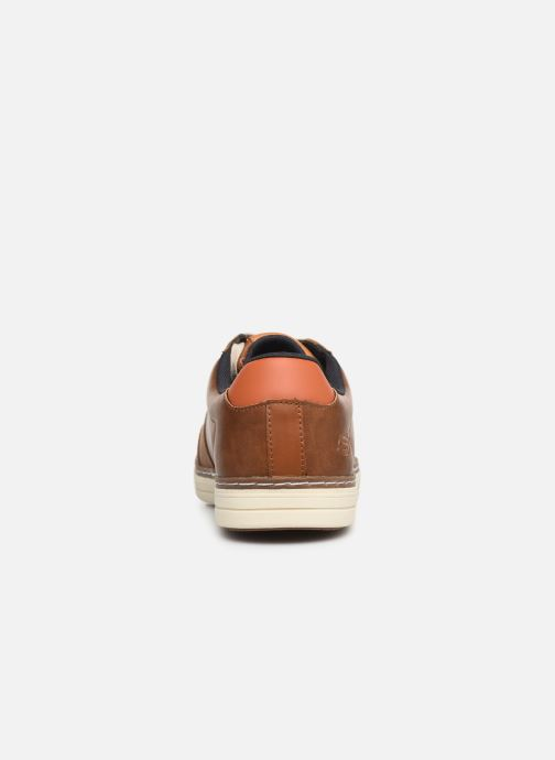 Trainers Skechers Heston Avano Brown view from the right
