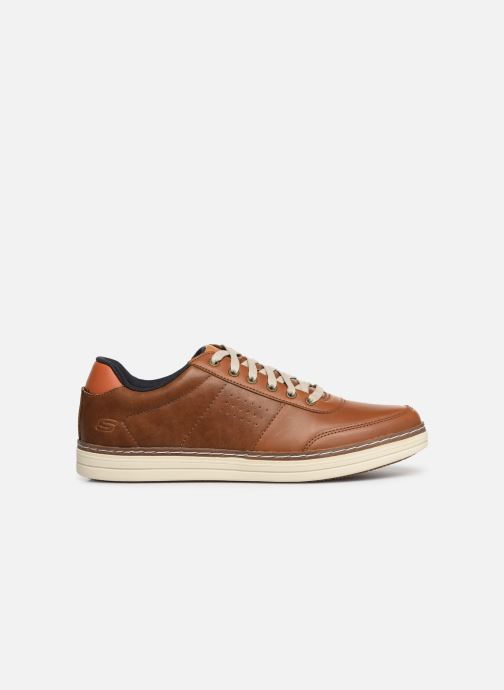 Trainers Skechers Heston Avano Brown back view
