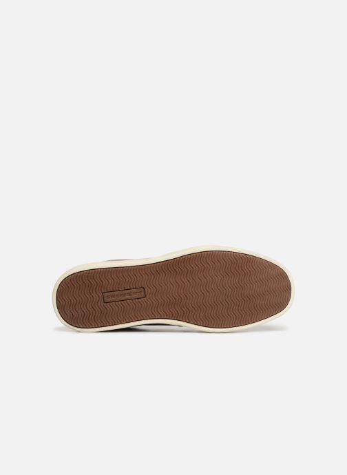 Sneaker Skechers Heston Avano braun ansicht von oben