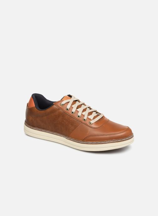 Trainers Skechers Heston Avano Brown detailed view/ Pair view