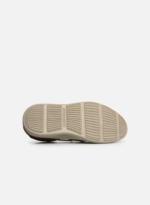 Zapatos con cordones Skechers Status 2.0 Former Marrón vista de arriba