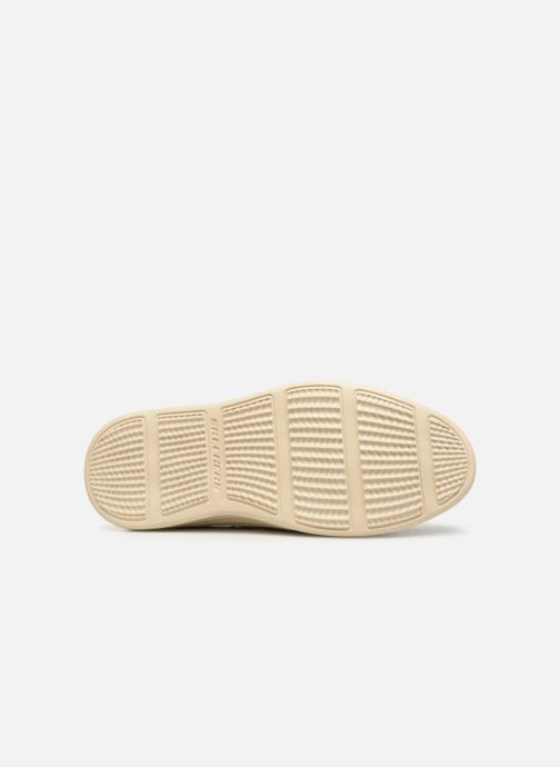 Chaussures à lacets Skechers Status 2.0 Former Bleu vue haut