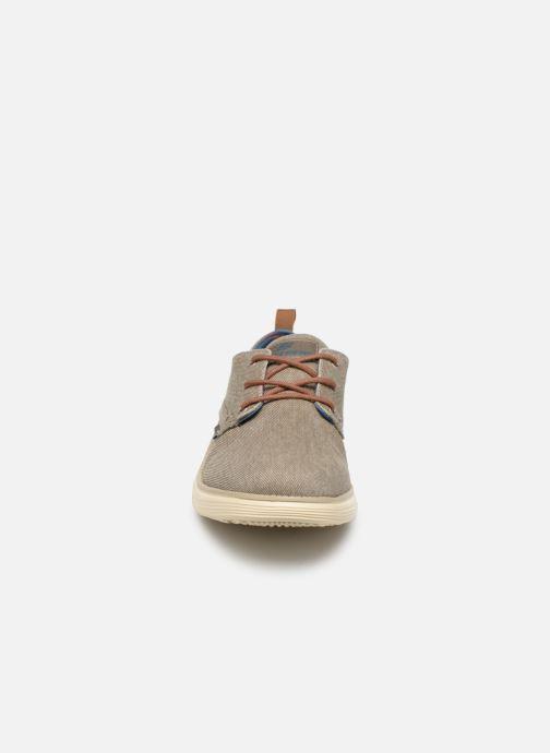 Sneaker Skechers Statut 2.0 Pexton grau schuhe getragen