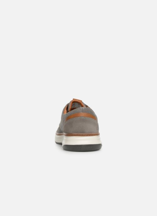 Trainers Skechers Moreno Ederson Grey view from the right