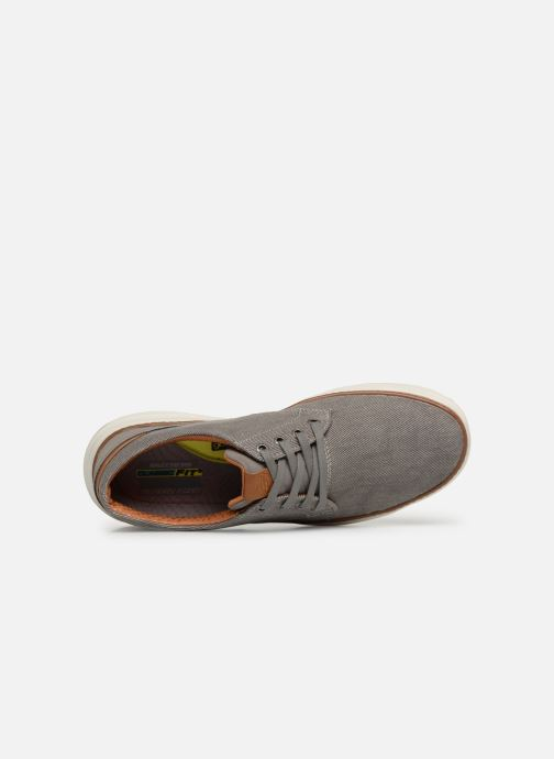 Trainers Skechers Moreno Ederson Grey view from the left