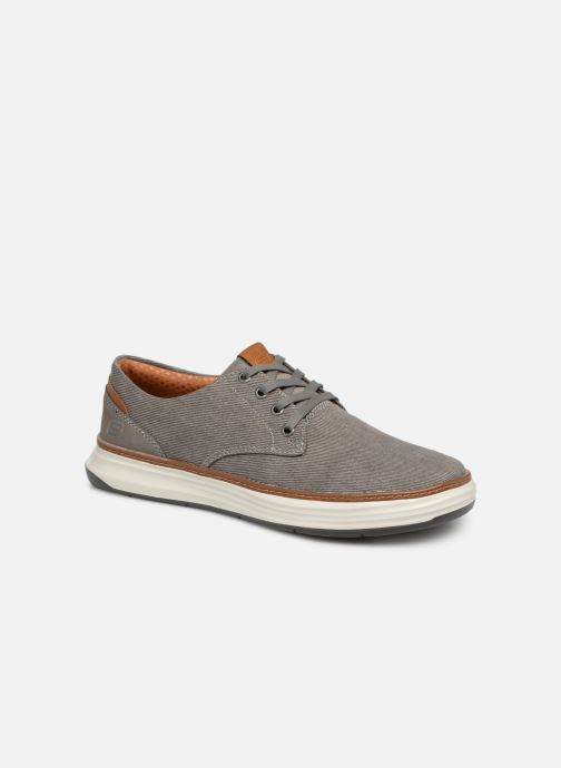 Trainers Skechers Moreno Ederson Grey detailed view/ Pair view