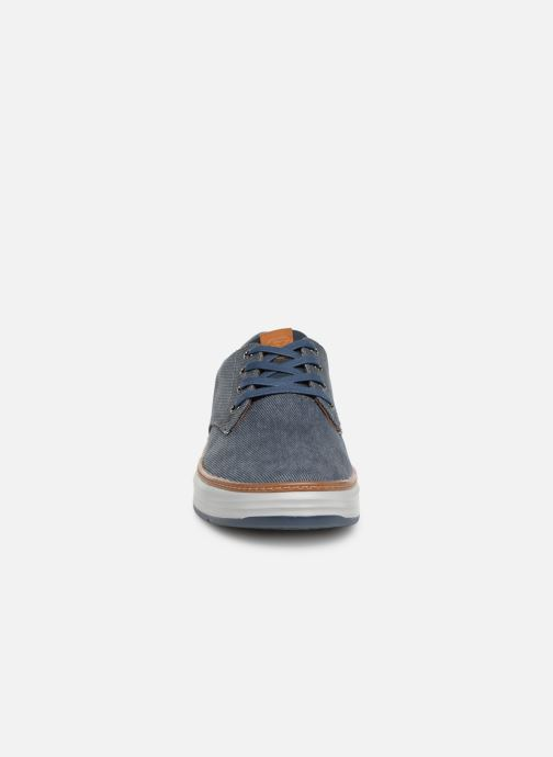 Baskets Skechers Moreno Ederson Bleu vue portées chaussures