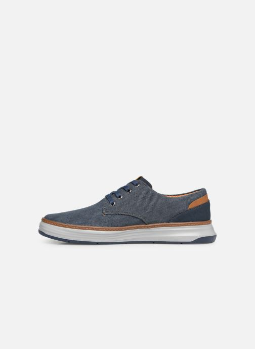 Trainers Skechers Moreno Ederson Blue front view