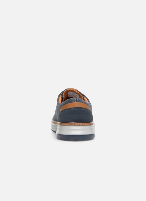 Sneaker Skechers Moreno Ederson blau ansicht von rechts