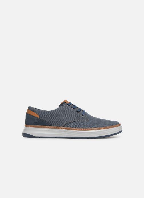 Sneakers Skechers Moreno Ederson Blauw achterkant