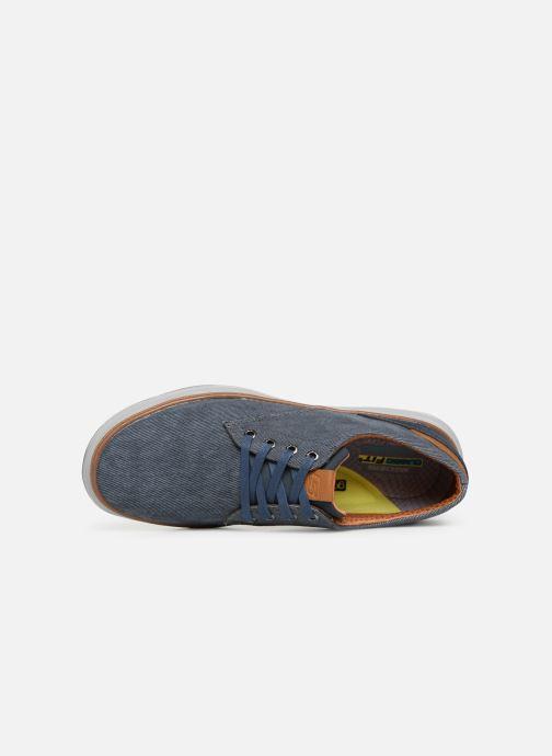 Sneaker Skechers Moreno Ederson blau ansicht von links