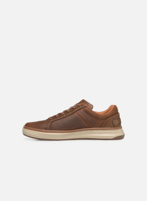 Baskets Skechers Moreno Winsor Marron vue face