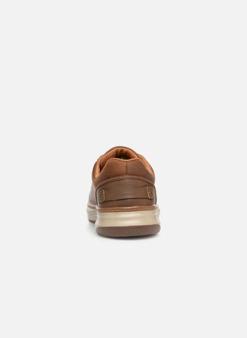 Sneakers Skechers Moreno Winsor Bruin rechts