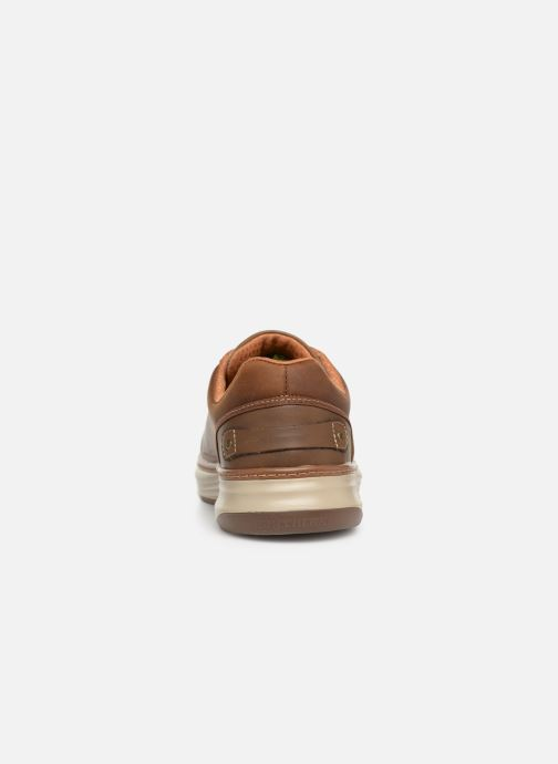 Trainers Skechers Moreno Winsor Brown view from the right