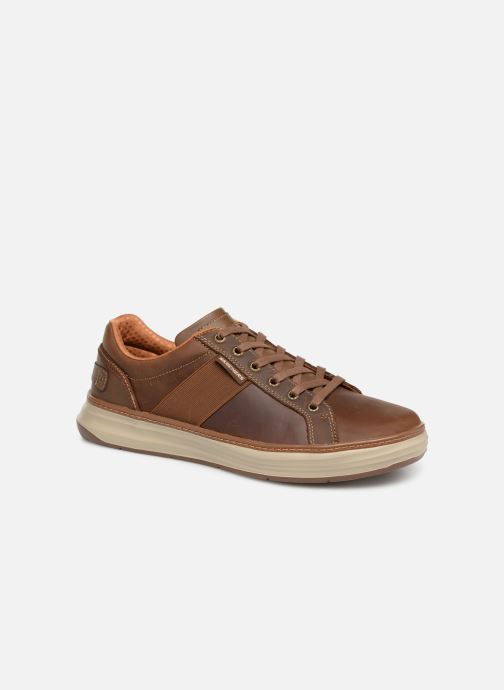 Baskets Skechers Moreno Winsor Marron vue détail/paire