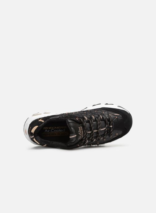 Trainers Skechers D'lites Glamour Feels Black view from the left