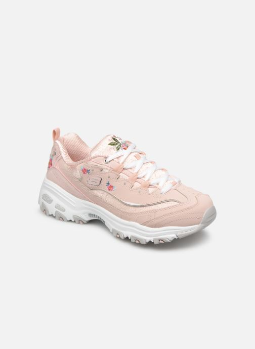 Sneakers Skechers D'Lites Bright Blossoms Rosa vedi dettaglio/paio