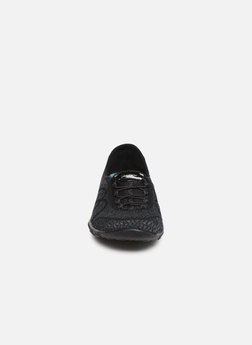 Sneakers Skechers Breathe-Easy Sweet-Jam Zwart model