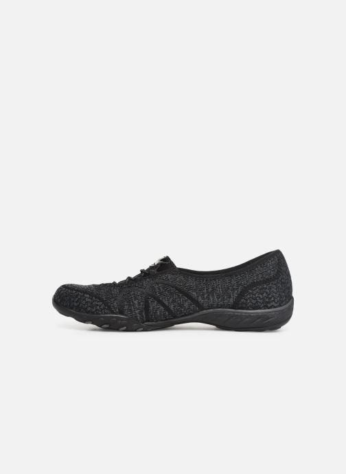 Sneakers Skechers Breathe-Easy Sweet-Jam Zwart voorkant
