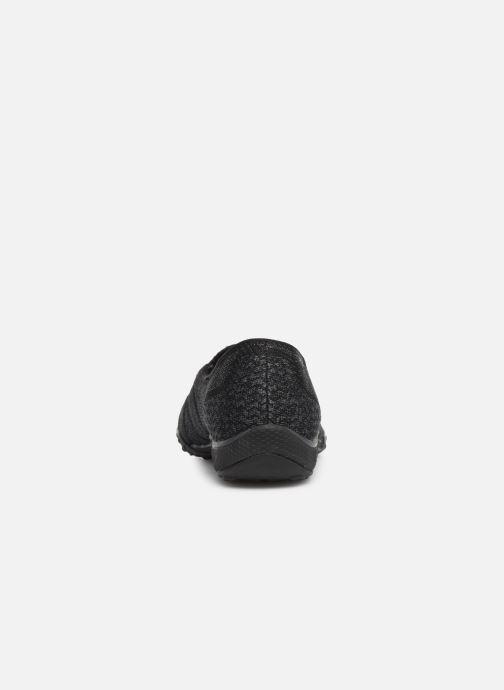 Sneakers Skechers Breathe-Easy Sweet-Jam Zwart rechts