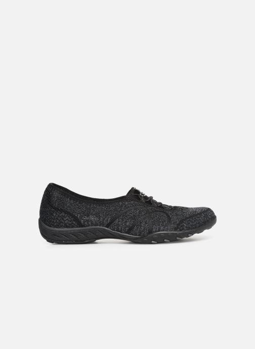 Sneakers Skechers Breathe-Easy Sweet-Jam Zwart achterkant